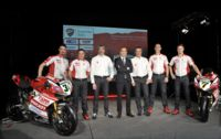 Presentato in live streaming sul web il Team Ducati Superbike 2014
